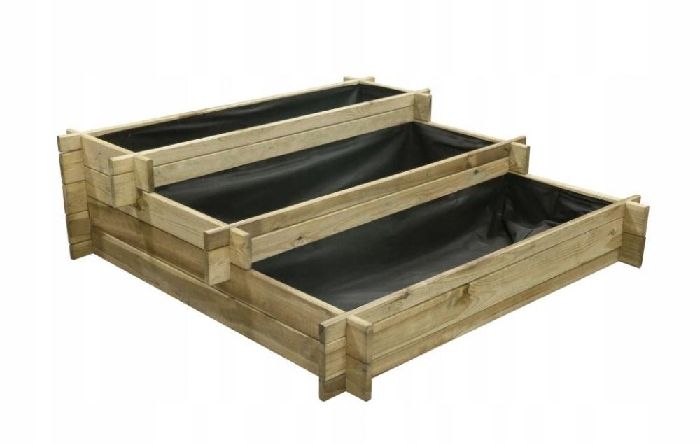 Овощной деревянный гербарий 120x120x36