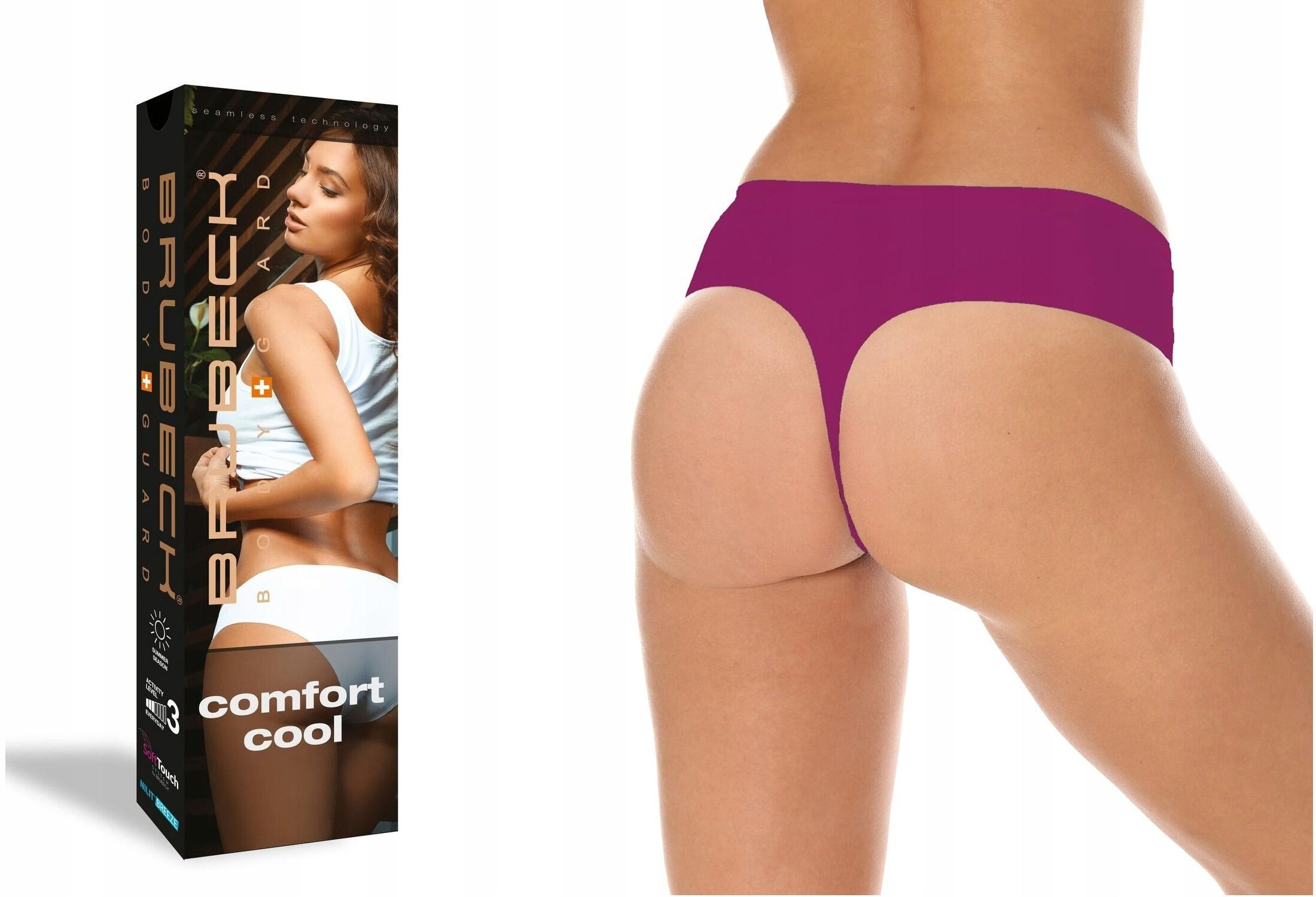 Stringi Comfort Cool Brubeck TH10060 r.S Fuksja