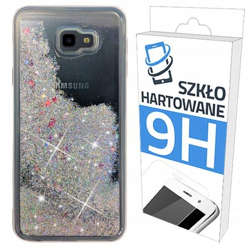 Etui Brokat+szkło Hartowane Do Samsung Galaxy J4+