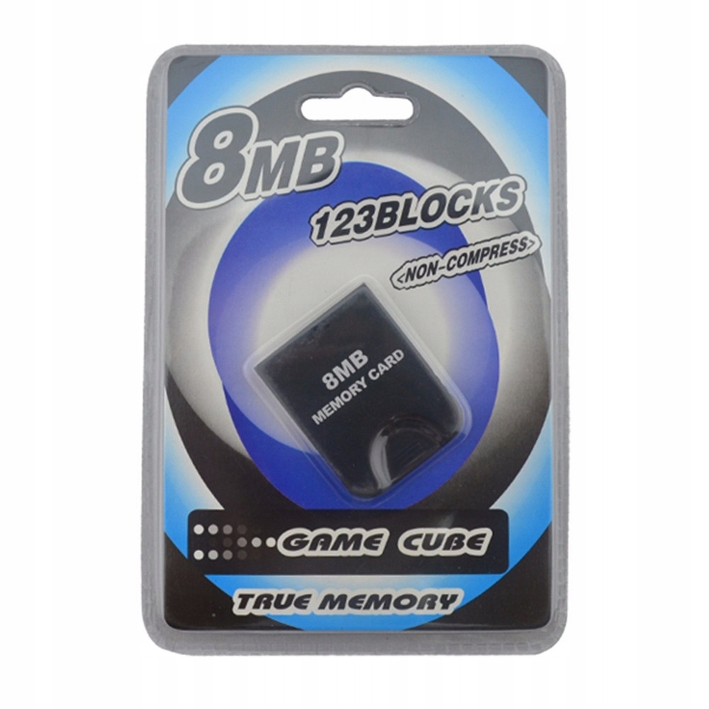 Item Memory card to record the state of the game for the Game Cube 8 MB