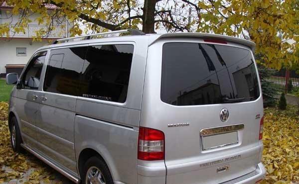 vw t5 transporter+van  спойлер козырек dj-tuning