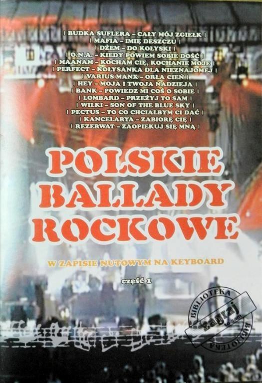 Kniha poľských rockových balíkov a