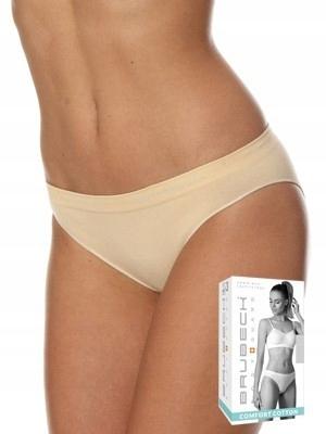 Majtki Figi Brubeck Bikini Comfort Beżowe XL