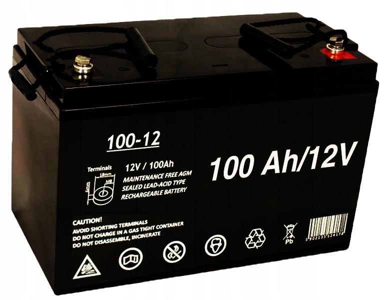 ИБП без батареек AGM ИБП 12В, 100Ач