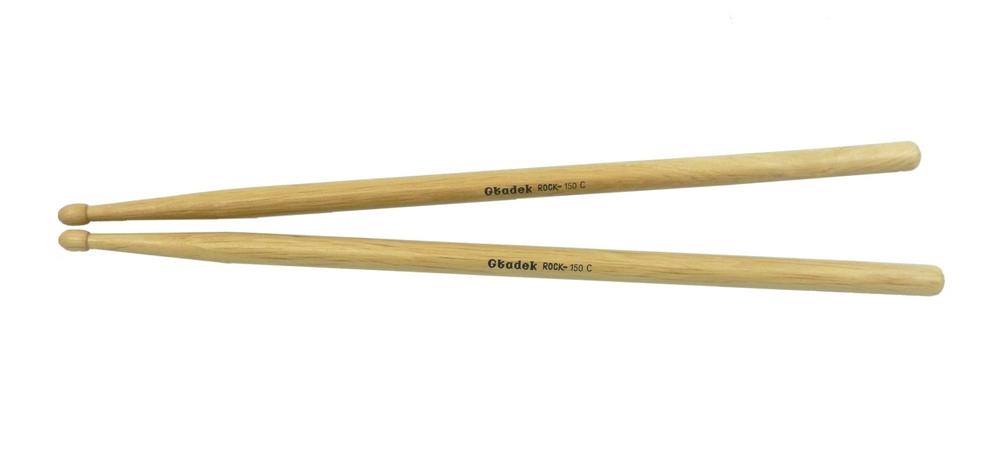 Perkusové guľôčky hladkého 150c rock