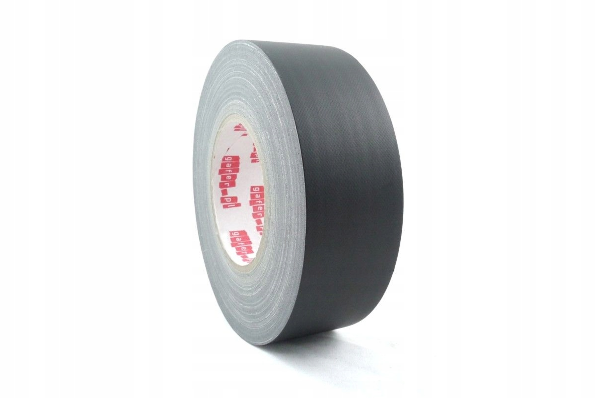 Item MAX Mat gafer.pl black gaffa tape 50mm tape