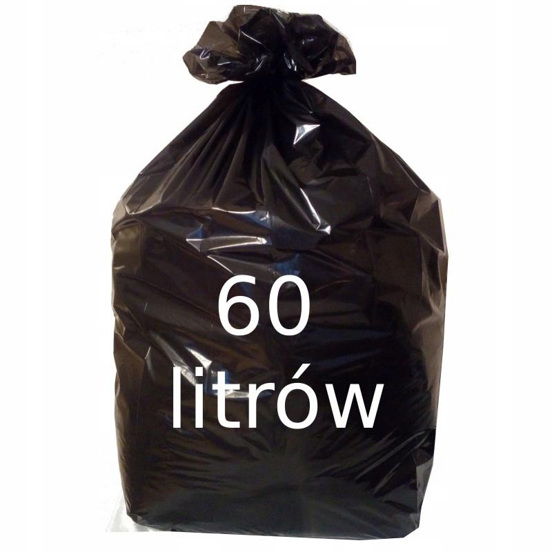 Купить Мешки для мусора 60Л черные сильные 10 шт. на Otpravka - цены и фото - доставка из Польши и стран Европы в Украину.