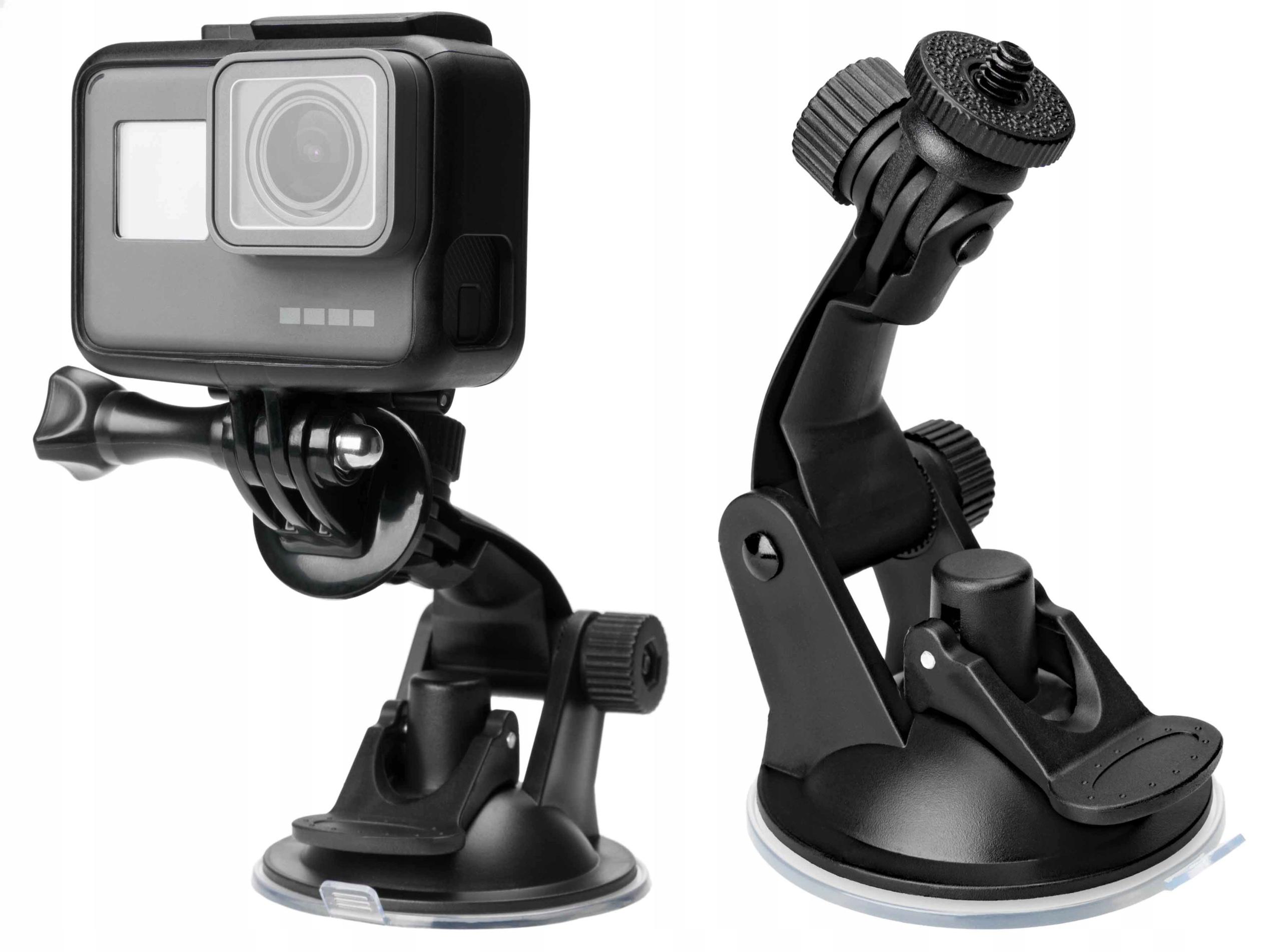 Uchwyt mocowanie na szybę statyw do GoPro Hero 5 4