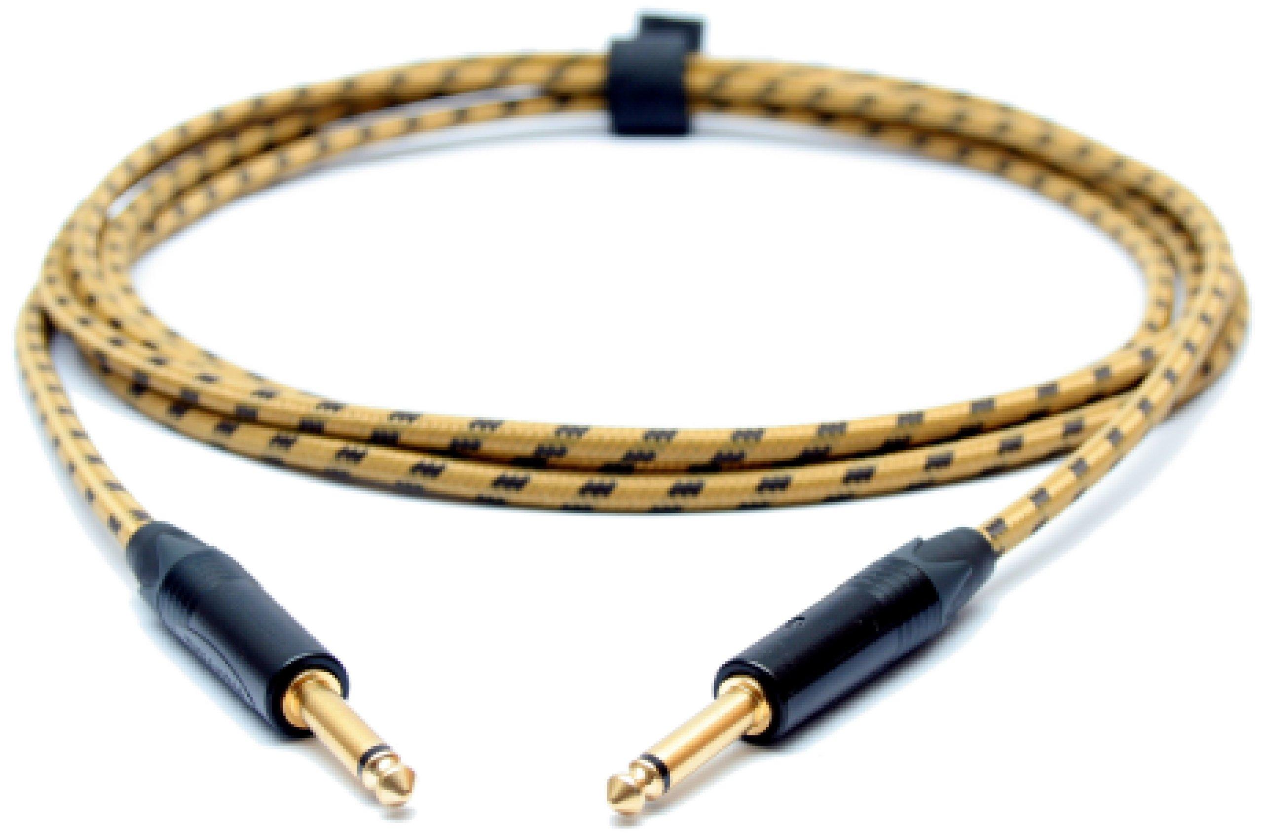 SOUNDSTAGE Kábel 5M GITARA KÁBEL vintage TWEED