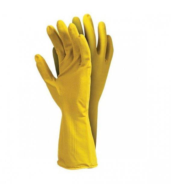 Защитные перчатки резиновые экономические roz. М