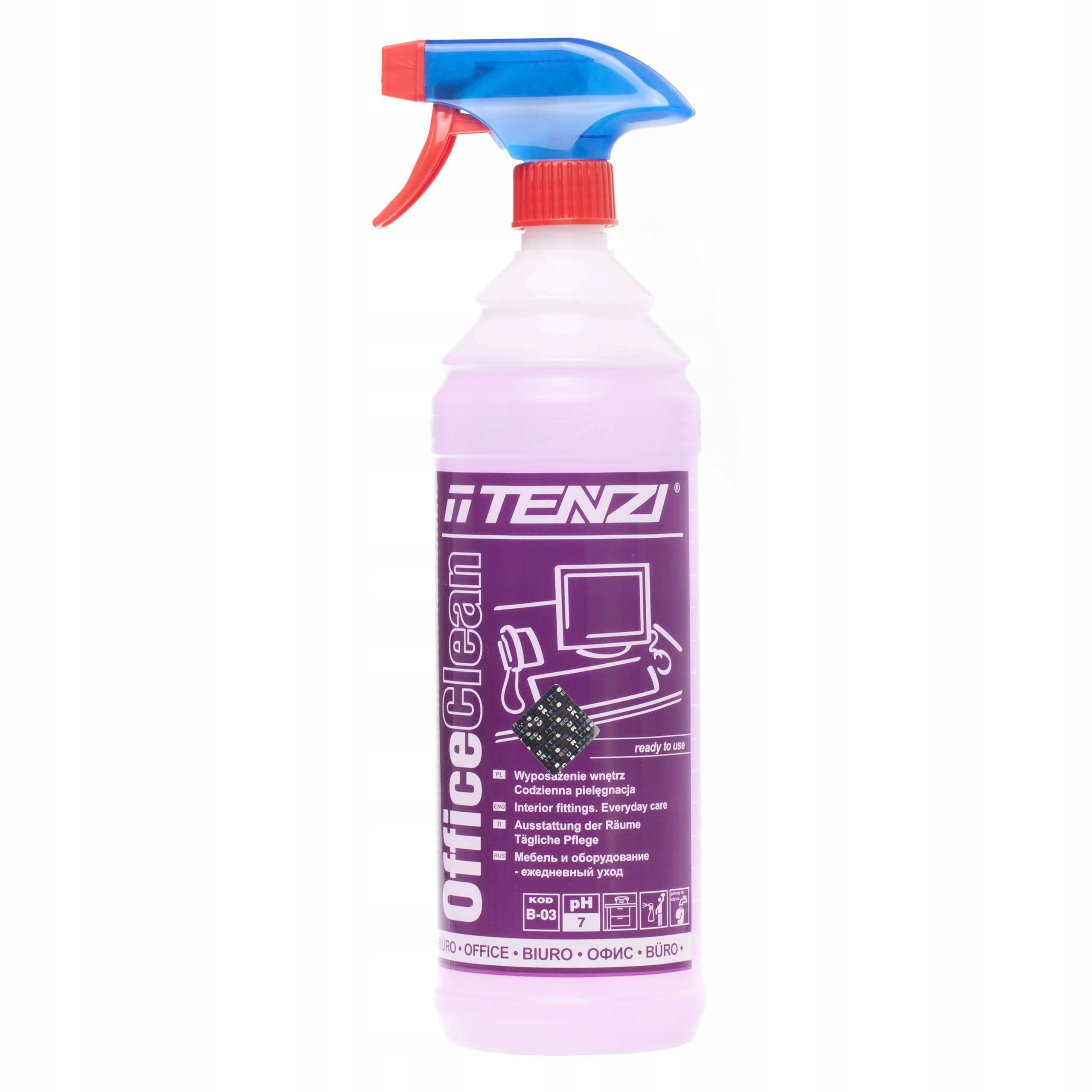 Tenzi Office Clean Моющее средство для чистки мебели 1л