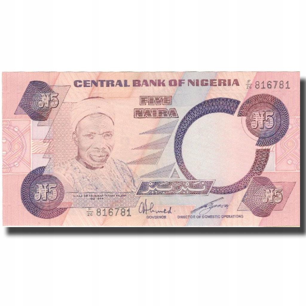 Банкнот, Нигерия, 5 найра, без даты (1979-84), Unda