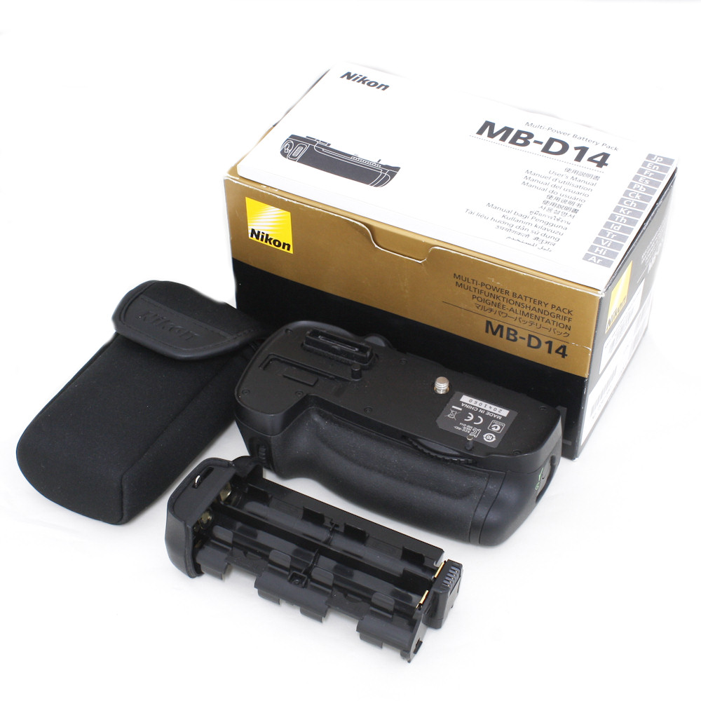 Nikon MB-D14 Batéria Pôvodný GW.12M SET