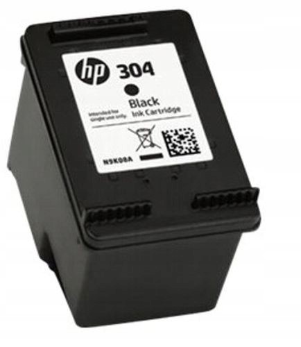 ORYGINALNY TUSZ HP 304 Black N9K06AE CZARNY NOWY Kolor czarny (black)
