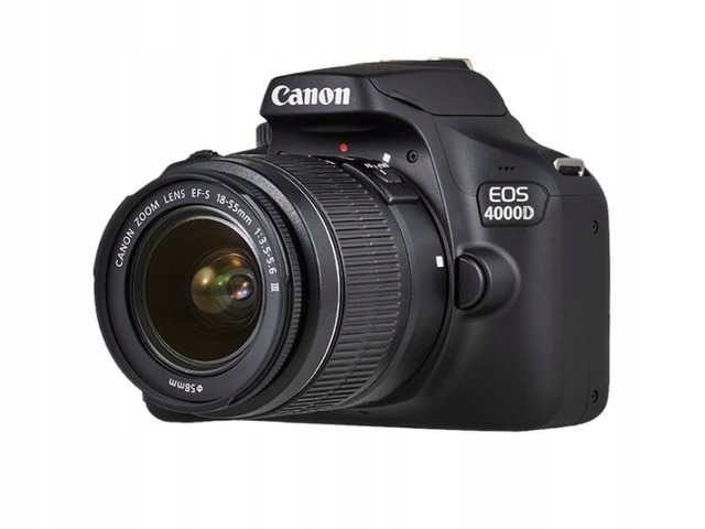Item SLR camera CANON EOS 4000D 18-55mm + Bag + 16GB
