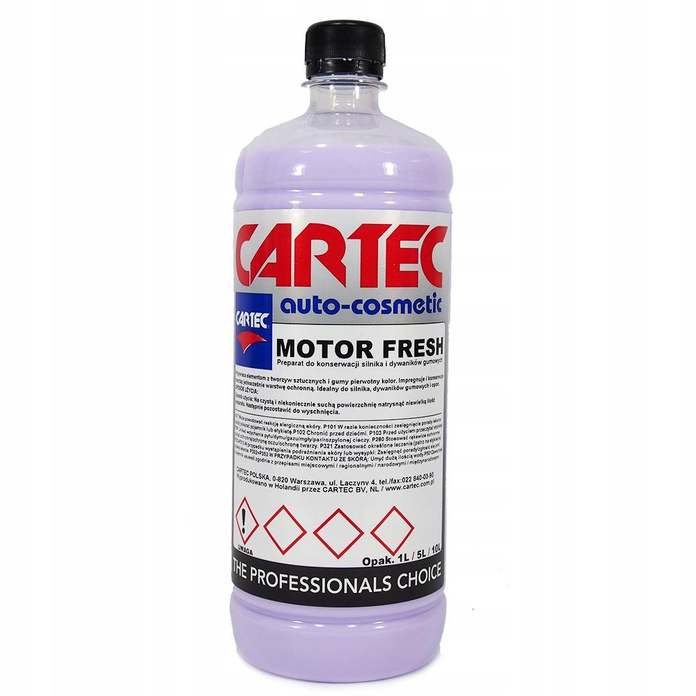 CARTEC MOTOR FRESH 1L для резиновых ковриков, прочный