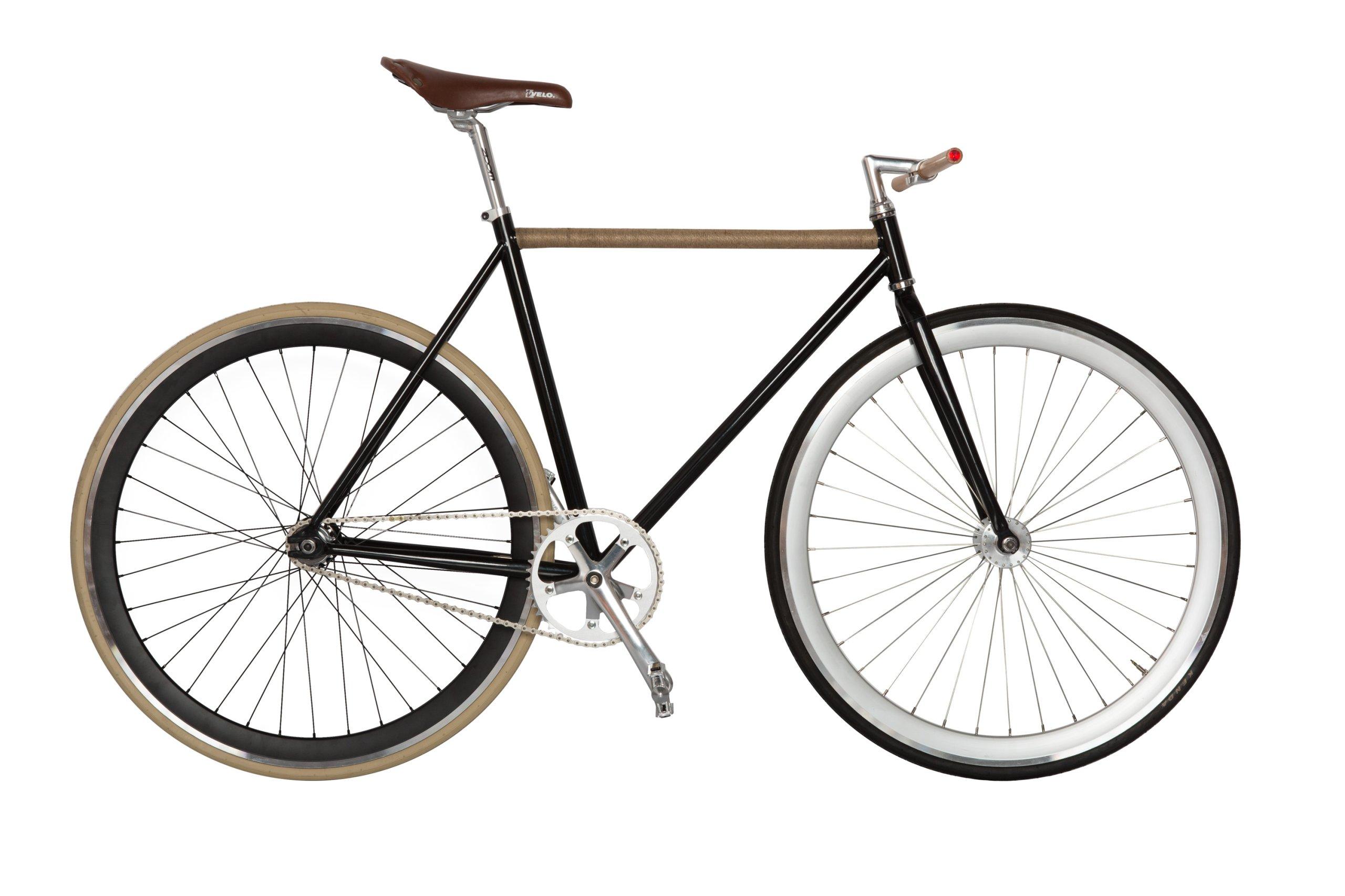 LOPATO Ostré kolesa bicykla jednej rýchlosti FIX Systém