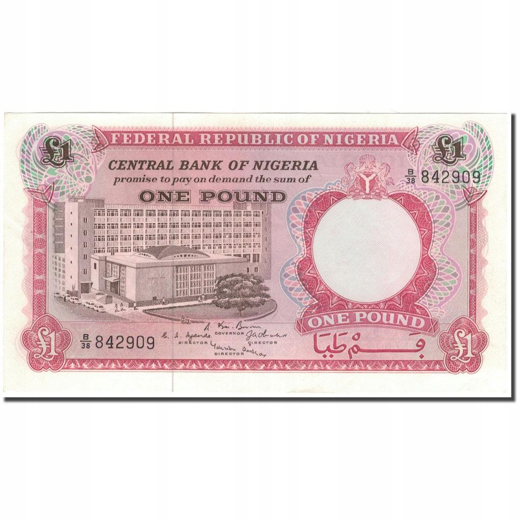 Банкнота, Нигерия, 1 фунт, KM: 8, UNC (63)