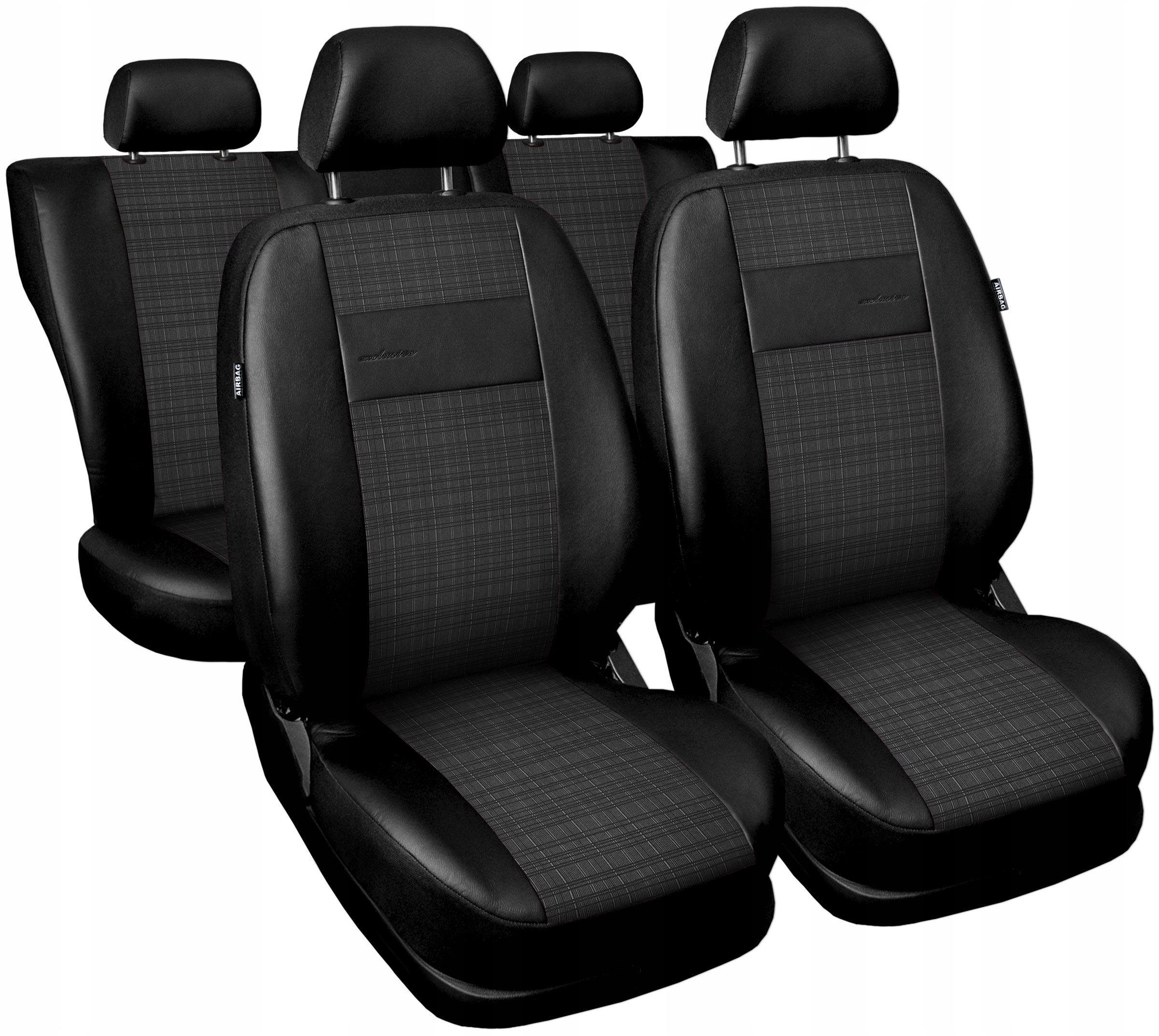 Pokrowce E4 na fotele do Audi A6 C4 C5 C6 C7