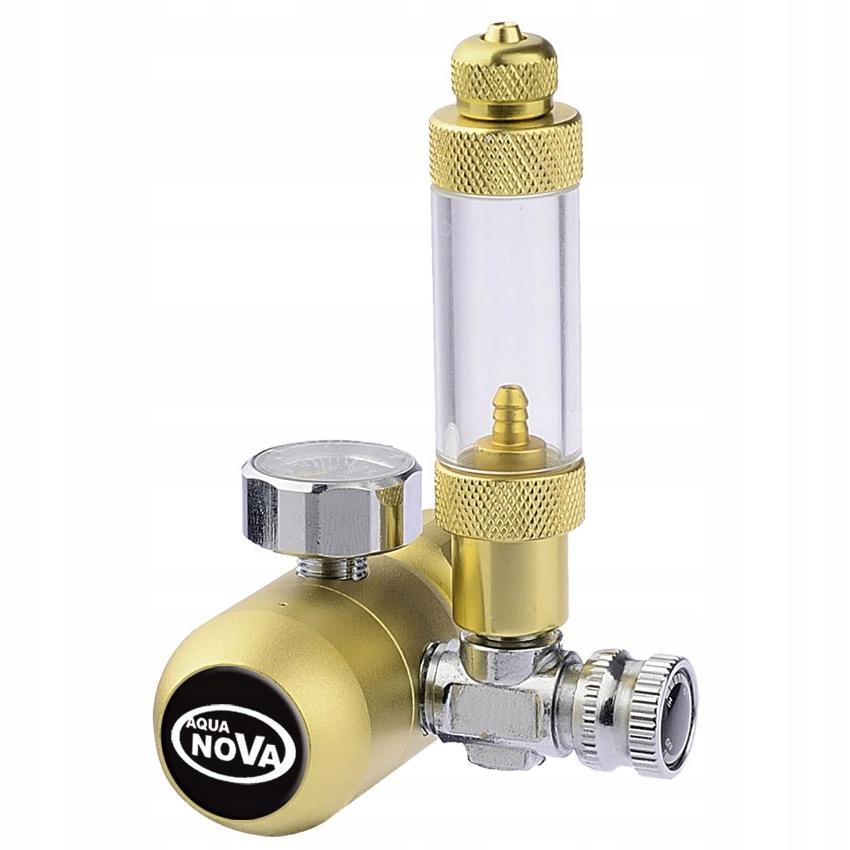 Aqua Nova CO2 4w1 redukčný ventil, HLAVICA, + POČÍTADLO