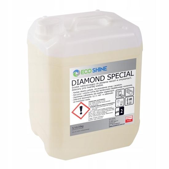 Diamond Špeciálnych 10 kg kvapalina pre oplachovanie umývačke riadu
