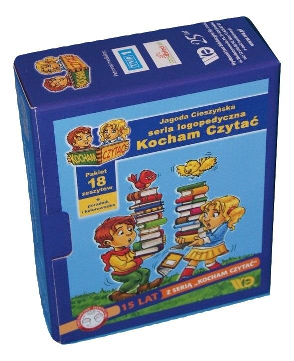 Kocham Czytac Seria Logopedyczna 1 18 Pakiet 118 99 Zl Allegro Pl Raty 0 Darmowa Dostawa Ze Smart Katowice Stan Nowy Id Oferty 7995656681