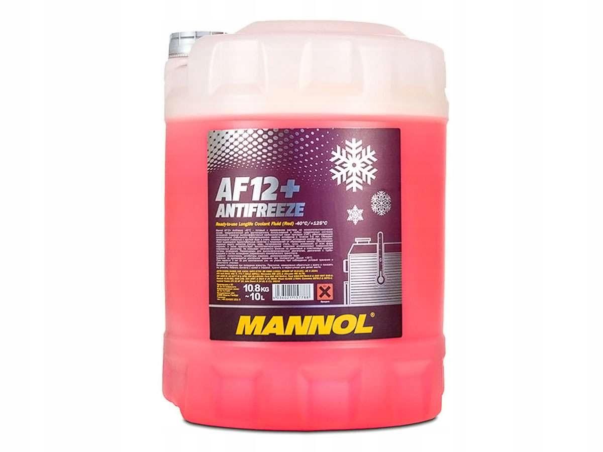 Антифриз Mannol 10Л до-40C Розовый 912 G12+