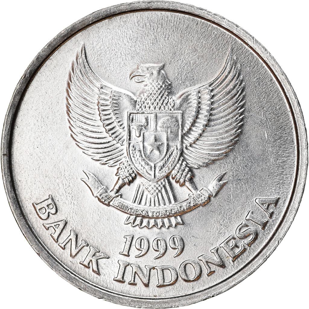 Moneta, Indonesia, 100 Rupiah, 1999, AU(50-53), Al