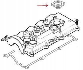 герметики крышки клапанов opel astra corsa 17