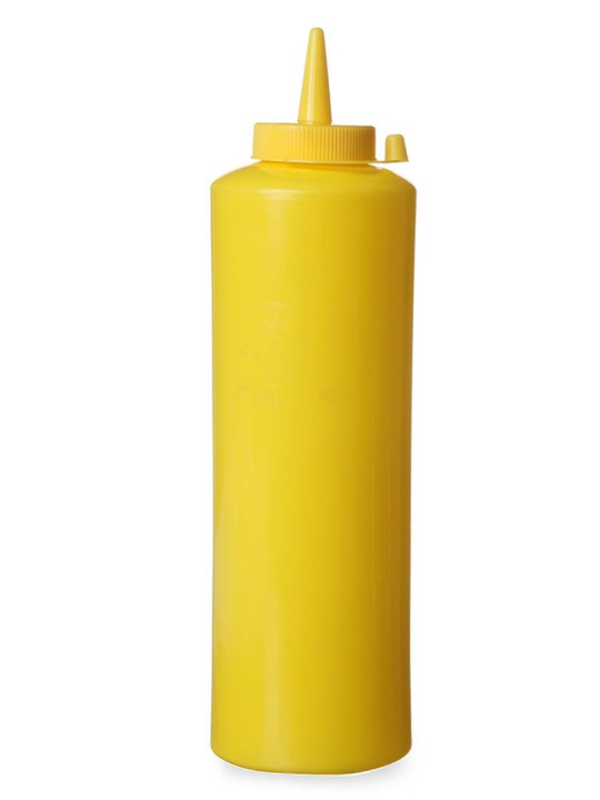 Купить Dyspenser Контейнер Для Соусов Горчицы Желтый 0,7 Л на Otpravka - цены и фото - доставка из Польши и стран Европы в Украину.