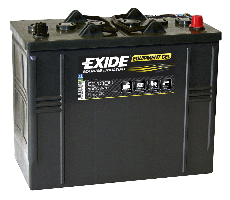 Batéria 120Ah Exide GEL 1300Wh ES1300 Wroclaw