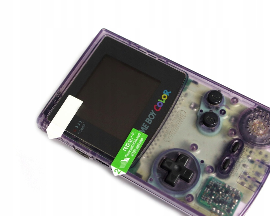 Item The film on the screen console GBC for protection from scratches