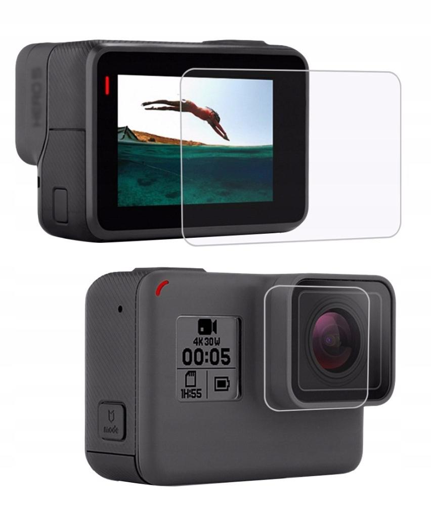 Osłona Szkło na Obiektyw Ekran LCD GoPro Hero 7 6