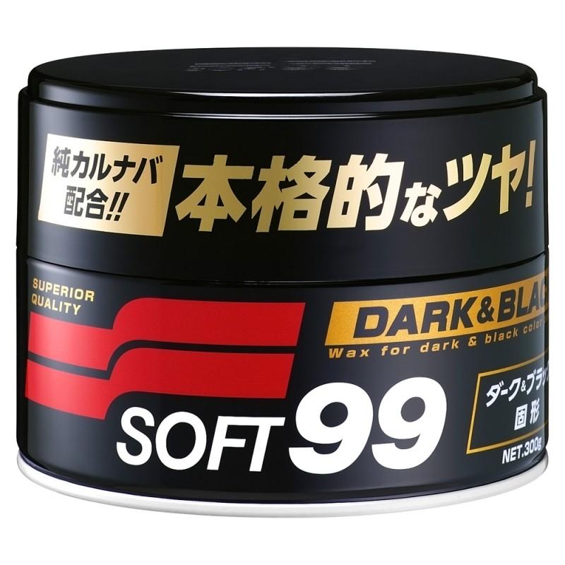 SOFT99 Black Dark Wax ВОСК ДЛЯ ЧЕРНОГО ЛАКА!