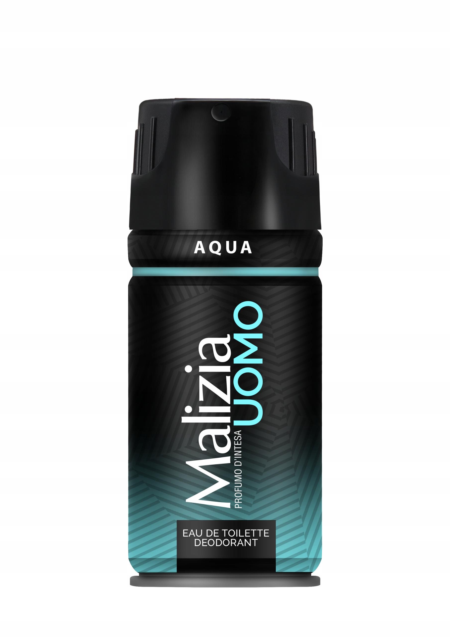 Malizia Uomo Aqua мужской дезодорант-спрей 150 мл