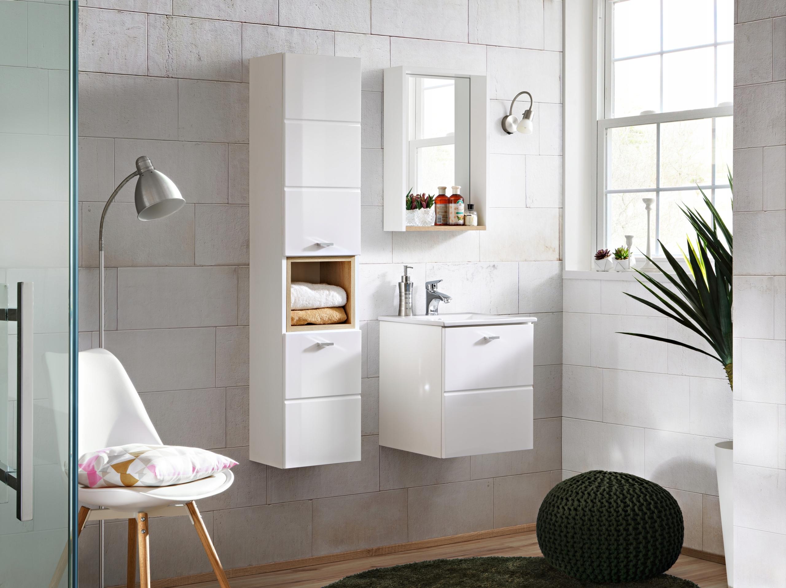 FINCA kúpeľňový nábytok Biely lesk