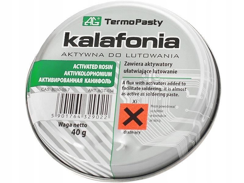 Kalafonia aktywna czysta 40g AG PASTY
