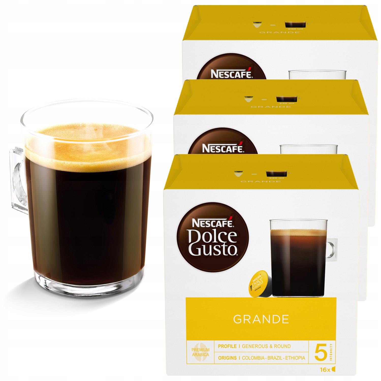 Nescafe Dolce Gusto Grande 48 szt 3x16 kapsułek