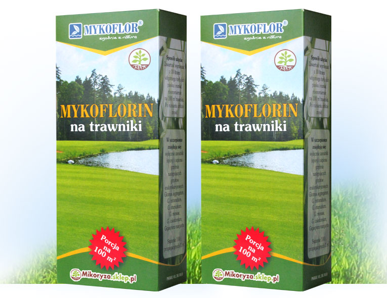 Mycorrhiza na tráve a trávnik 200 m2