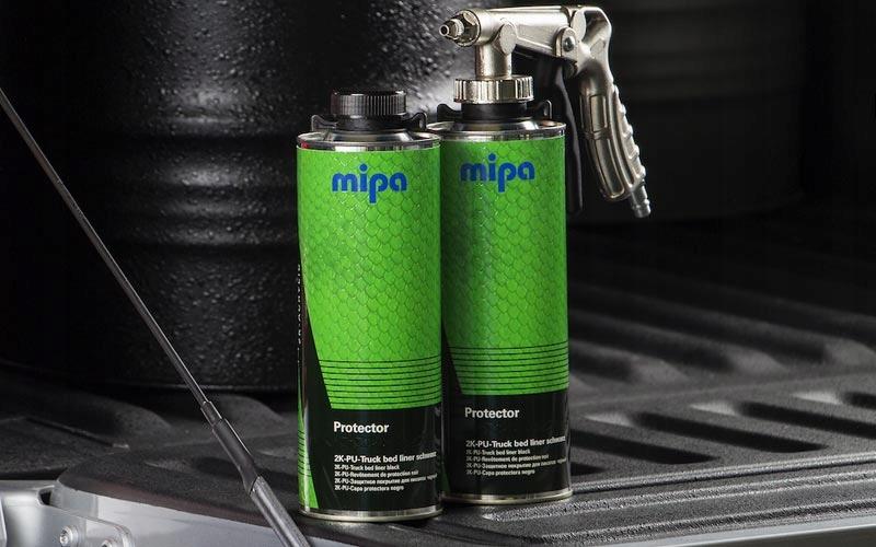 Konserwacja Mipa Protector CZARNY + PISTOLET Pojemność opakowania 4000 ml