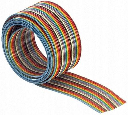 IDC AWG28 20 páska Żyj r = 30,5 m farebné / 3378