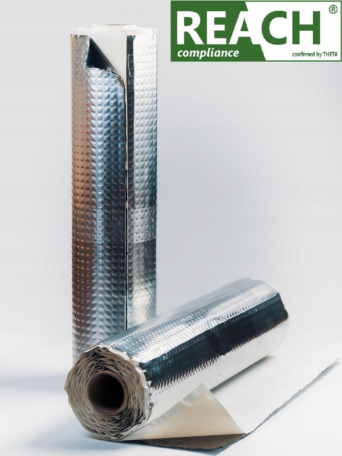 mata обезшумка butylowa bitumiczna alubutyl 2mm, фото