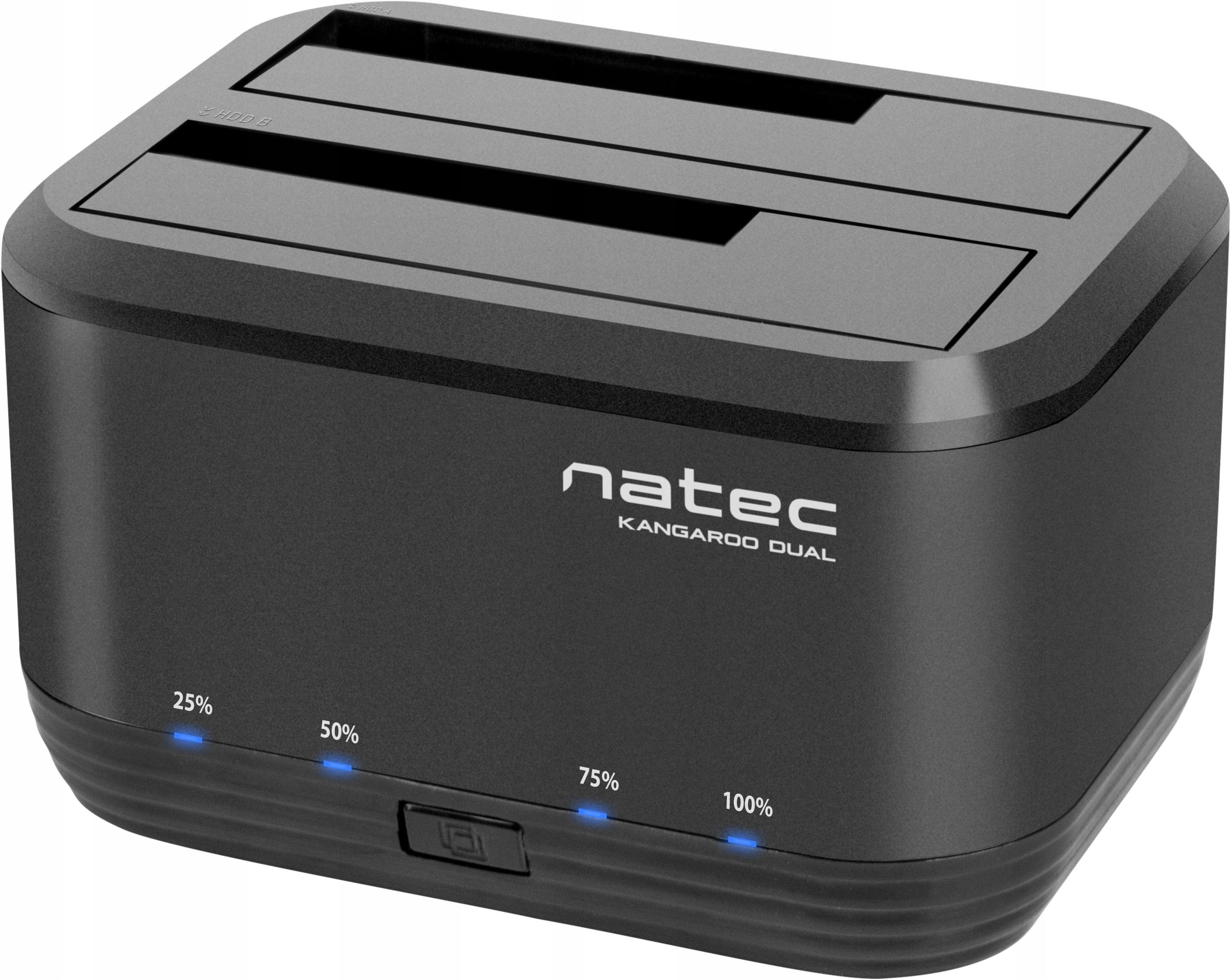 HDD NATEC DUAL SATA 2.5 / 3.5 USB 3