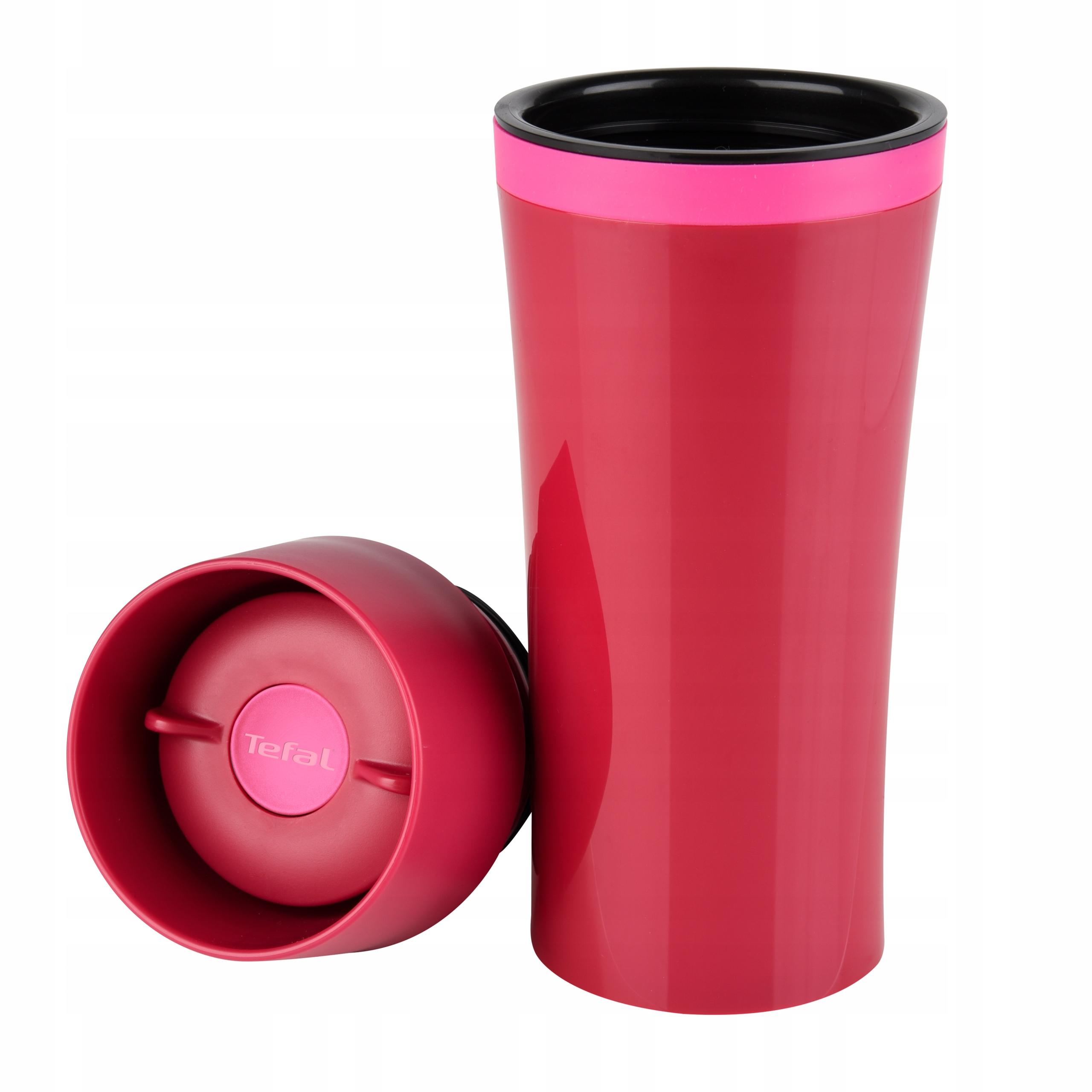 Kubek termiczny TEFAL MUG 360 ml różowy K3072114