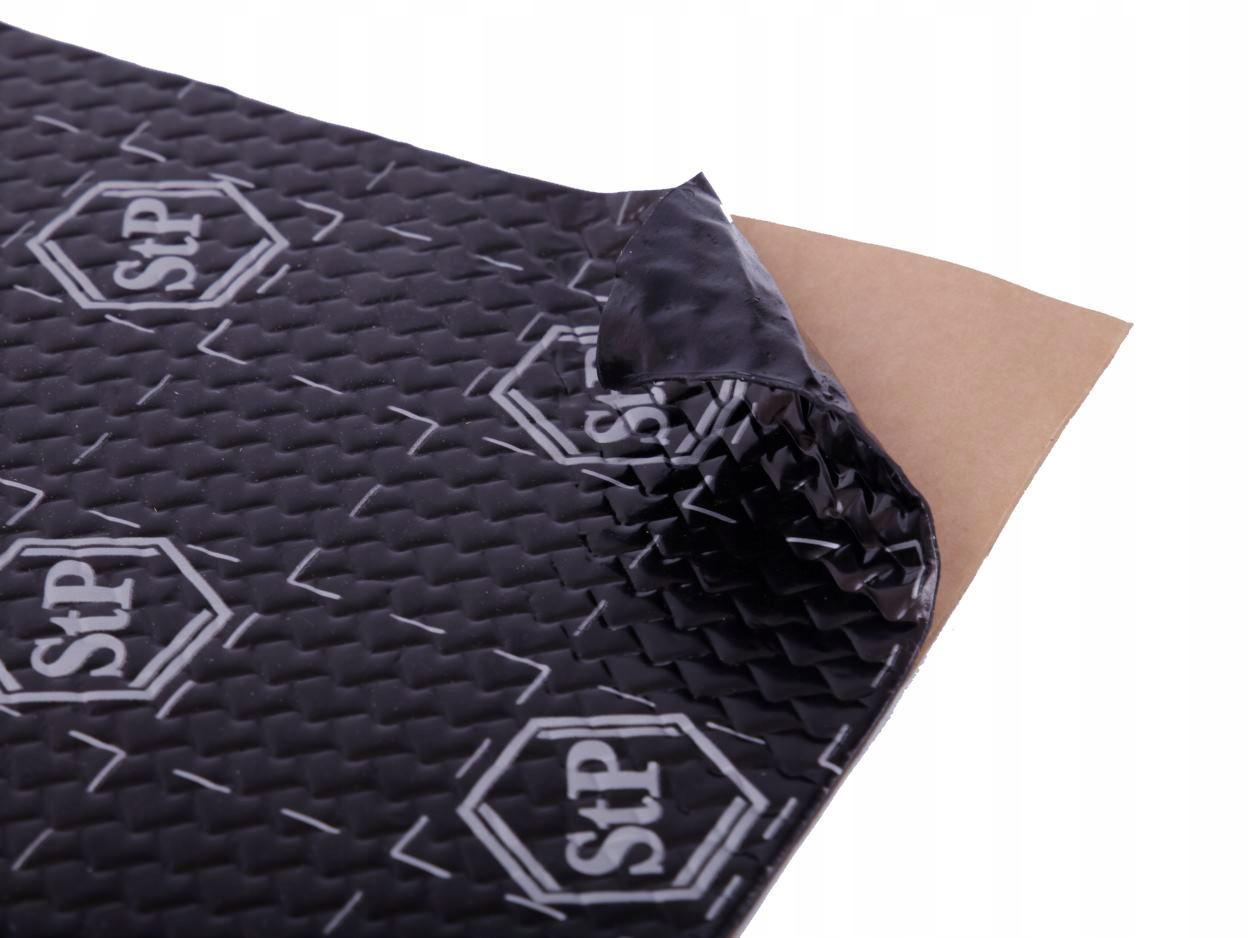 10 mat StP iSilver + pianka wygłuszająca K6s 3,5m2