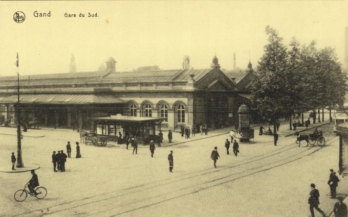 Gand. Gare du Sud. 191-?