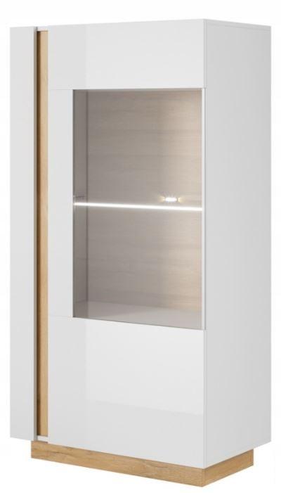 Мебель системы ARCO Низкий шкаф - белый глянец