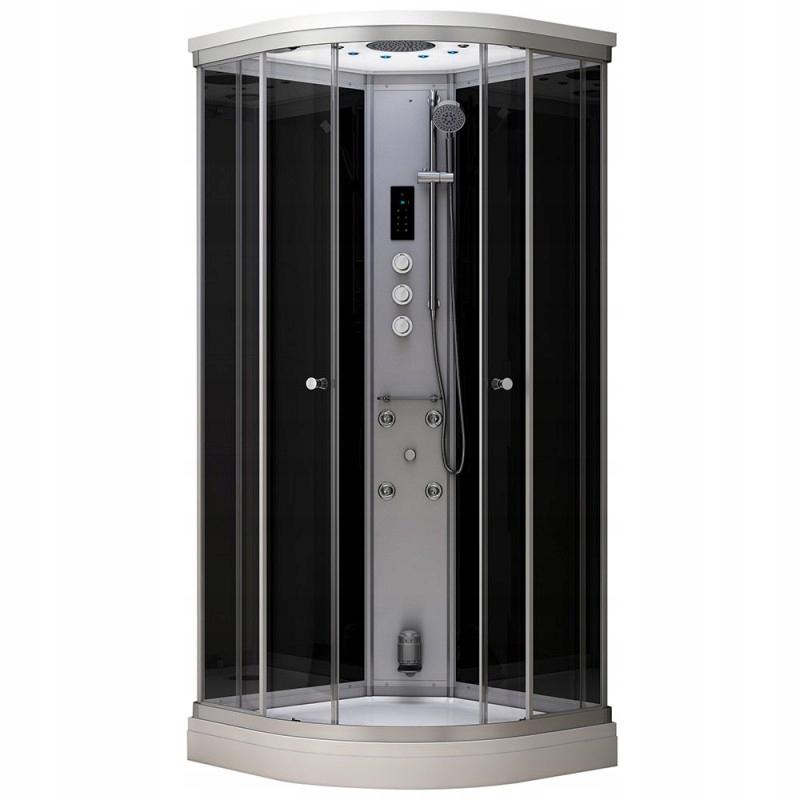 Hydromasážny sprchový kút 80x80 MUE-AF8080