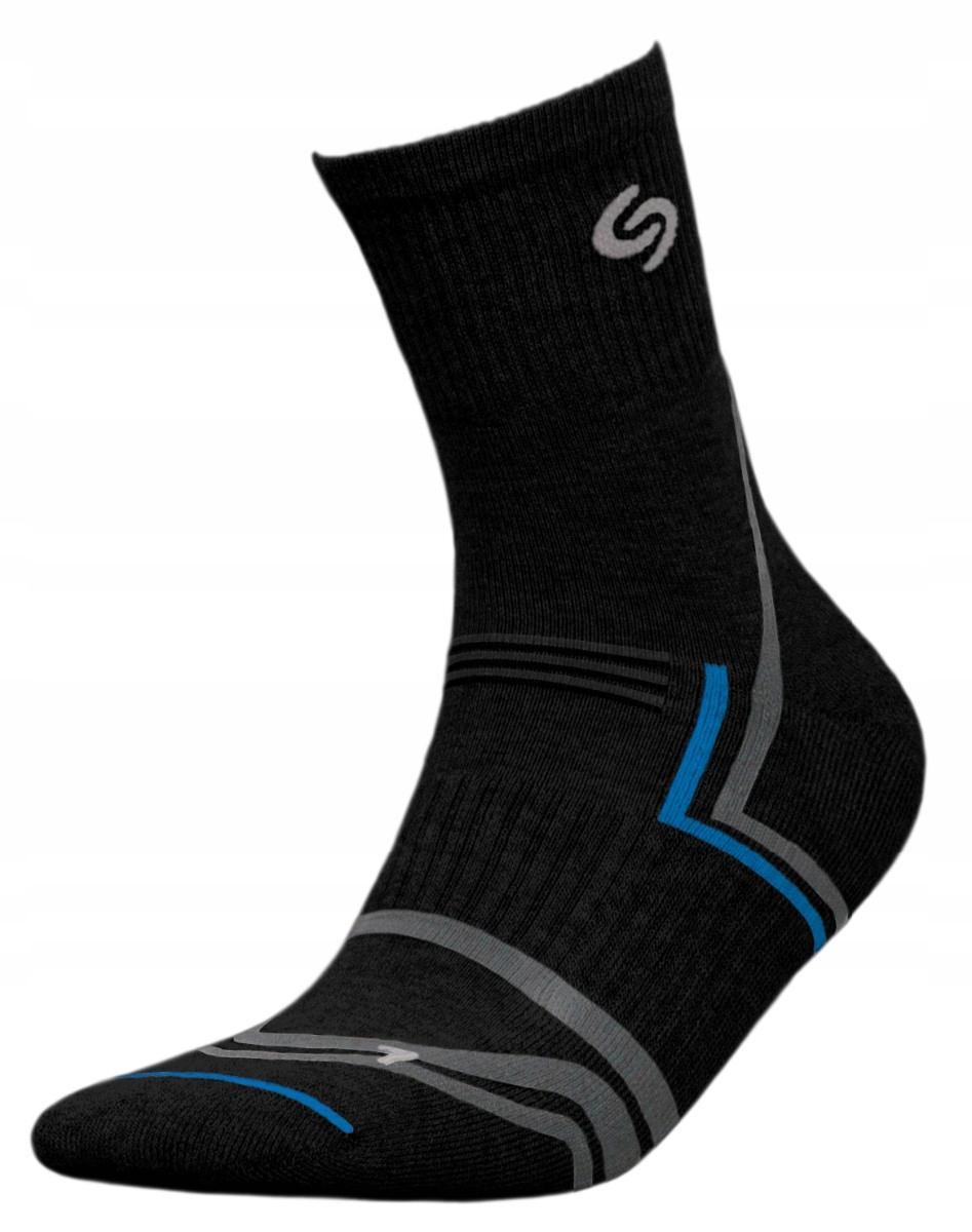 Nordic Walking Deodorant Socks Black 38-40