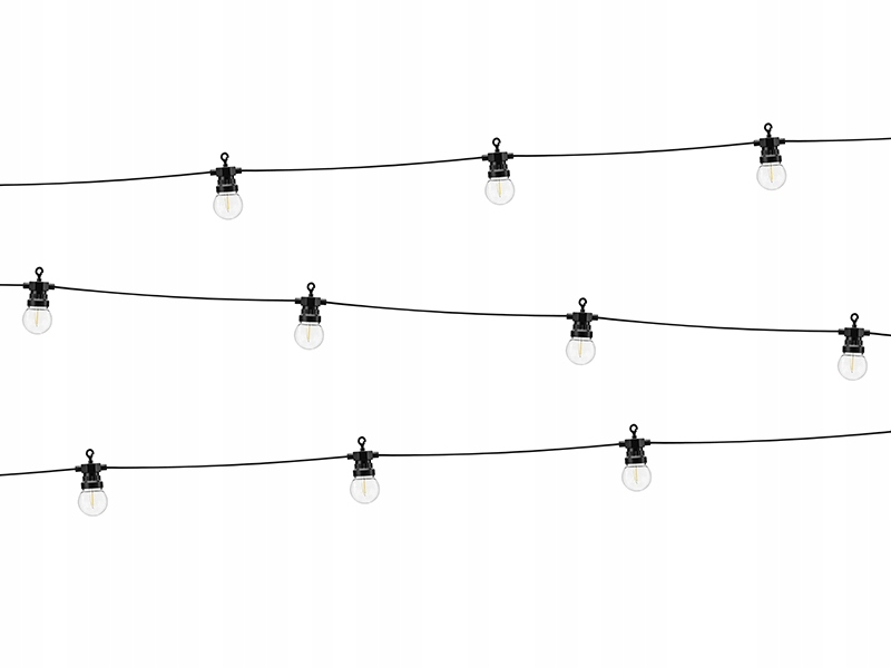 Dekoratívne LED svetlá, žiarovky RETRO, teplá biela